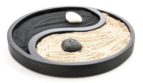 Mini jardín zen Yin Yang
