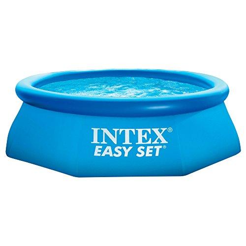 Intex Easy Set - Piscina hinchable, 244 x 76 cm, 2.419 l