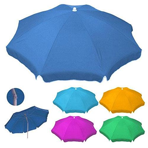 Sombrilla de playa en varios colores