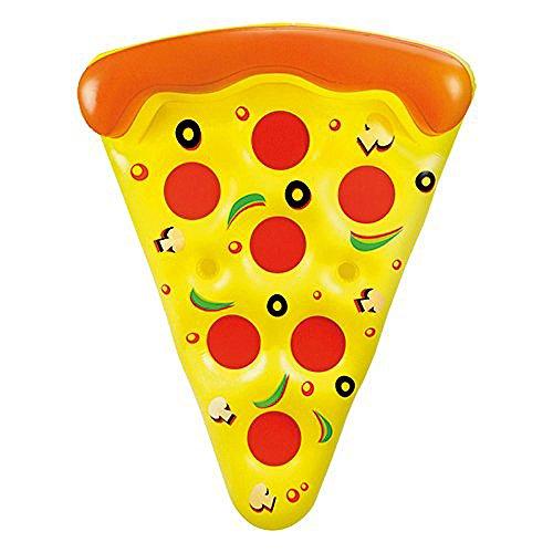 Trozo de pizza hinchable