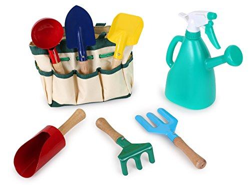 Herramientas de jardinería de juguete