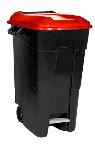 Cubo de basura grande con pedal