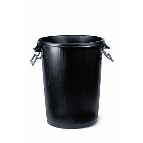 Cubo de basura grande con tapa